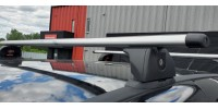 Barres transversales de toit pour Subaru Impreza et WRX. S'installent directament sur les points d'ancrage.